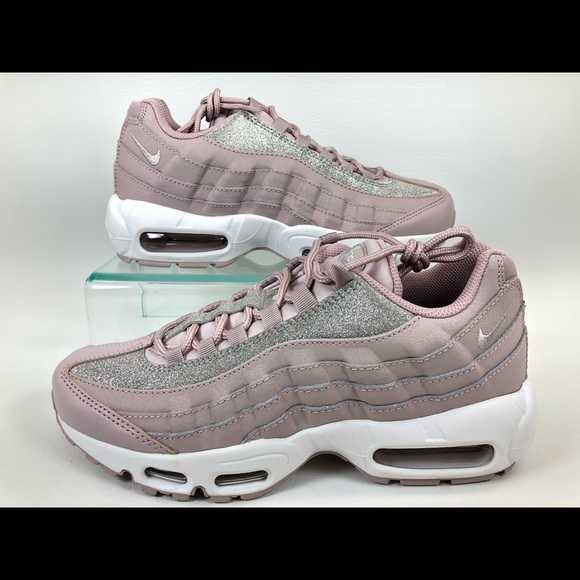 f634ae3907 Nike Shoes | Womens Air Max 95 Rose Glitter Sparkle | Poshmark